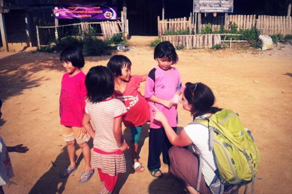 Lahu-Dorf in Nordthailand - Die Bergvölker Thailands sind besonders individuell