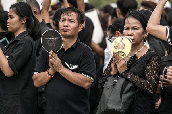 Thailänder trauern um König Bhumibol Adulyadej