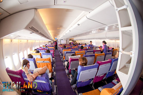 Alte Boeing 747 400 Economy Thai Airways