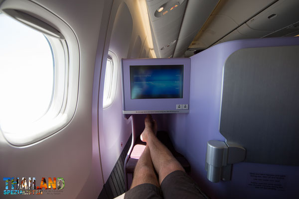 Boeing 777-300 Thai Airways Business-Class - Inlandsflug von Bangkok nach Chiang Mai