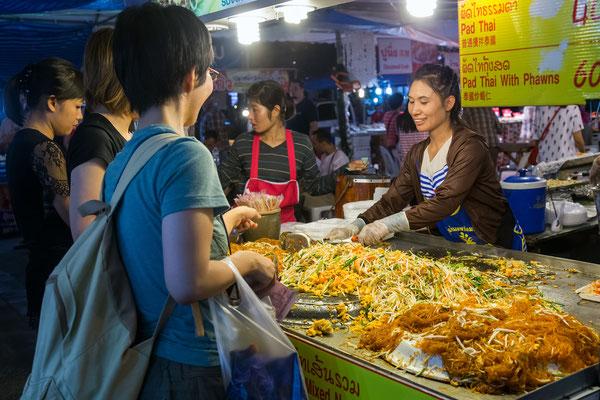 Pad Thai Food in Chiang Mai
