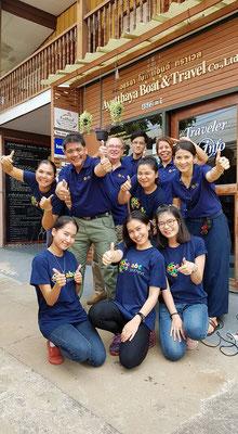 Symathische Menschen bei uns im Team Thailand-Spezialisten