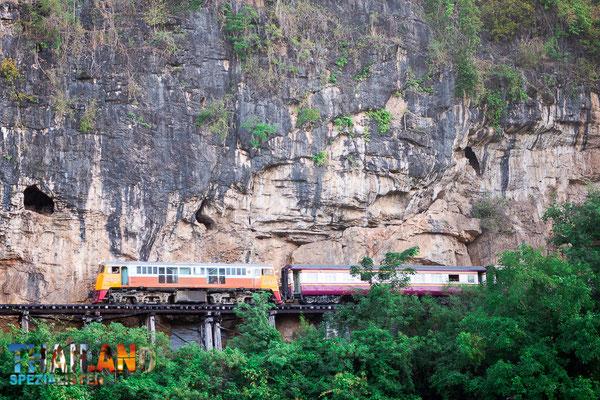 Death railway - Todeseisenabahn Kanchanaburi