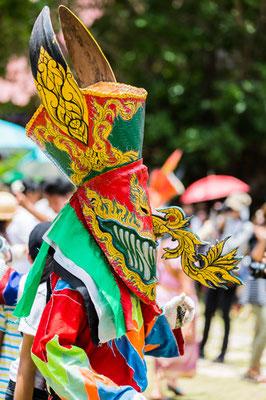 Phi Ta Khon Thailand Festival