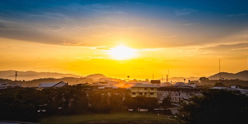 Die Stadt Chiang Rai