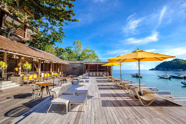 Haadtien Beach Club Koh Tao Restaurant