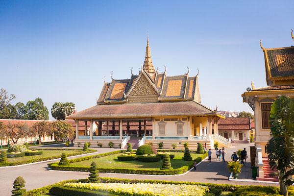 Der Royal Palace in Phnom Penh