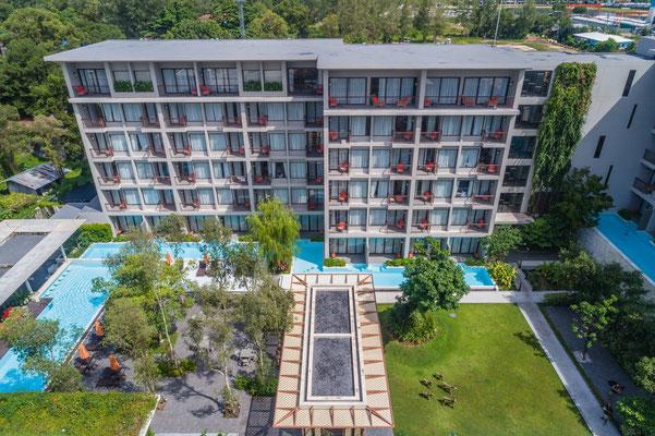 Proud Phuket Hotel - schönes sauberes Stadt Hotel