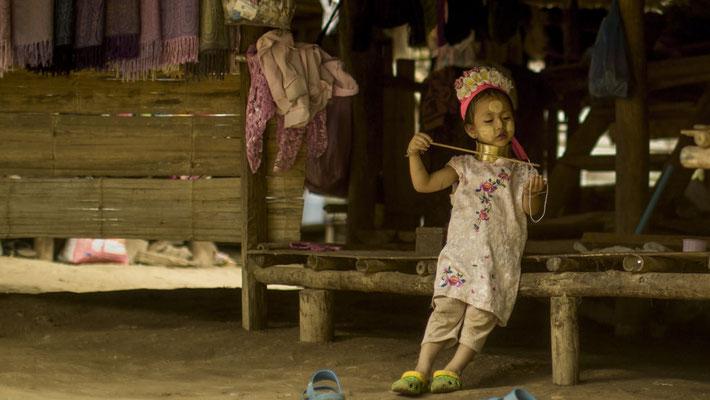 Mädchen aus dem Bergvolk, Nord-Thailand