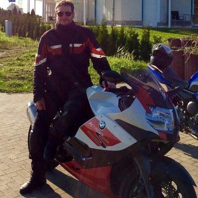 Matthias mit neuer BMW....
