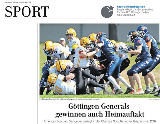 American Football, Göttingen Generals