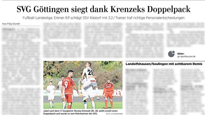 Göttinger Tageblatt 15.10.2018