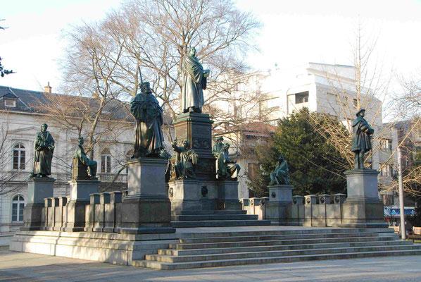 das Luther-Denkmal