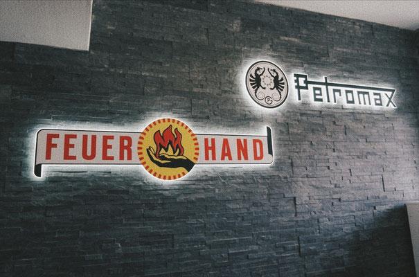 Eröffnung Feuerhand und Petromax Verkaufsraum