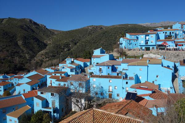 Schlumpfhausen in Andalusien