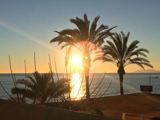 Sonnenuntergang El Caballo