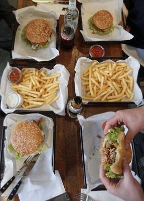 Burger bei Beef Brothers in Düsseldorf