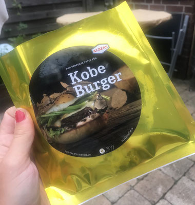 Kobe Burger von Albers Food