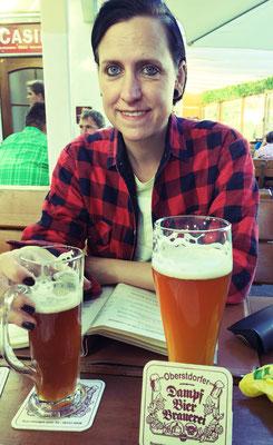 Dunkles Bier Oberstdorf Dampfbierbrauerei