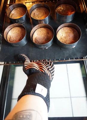 Backformen von Ess-Nische für die Frischkäsetörtchen