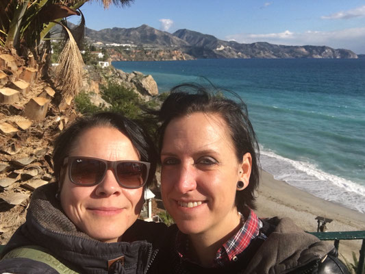 Nerja im Winter