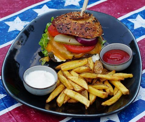 Unser Gewinner - der Wagyu Burger