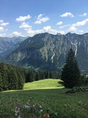 Aussicht Fellhorn Oberstdorf
