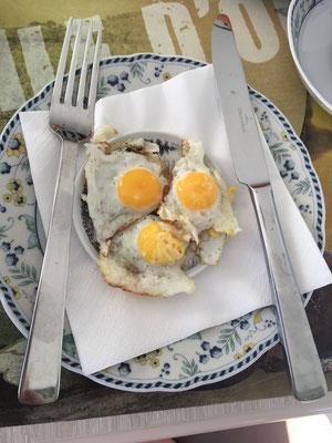 Wachteleier zum Frühstück
