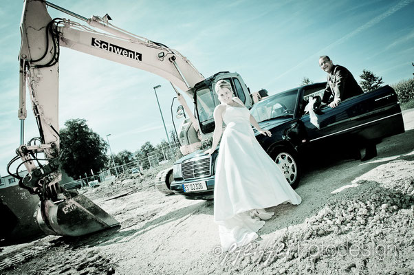 Hochzeitspaar-Shooting • on location • Echterdingen