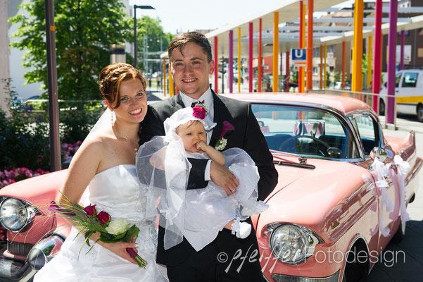 Hochzeitspaar-Shooting • on location • Stuttgart-Zuffenhausen