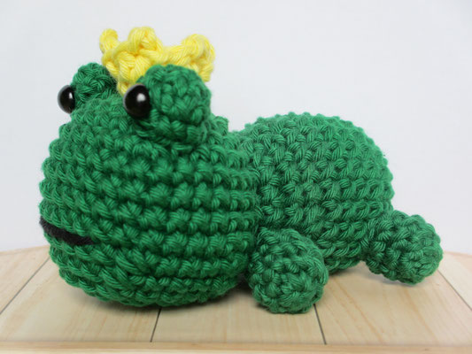 Bonnie Frog Prince Doll Crochet Pattern » No.1 Amigurumi Crochet ... | 400x533