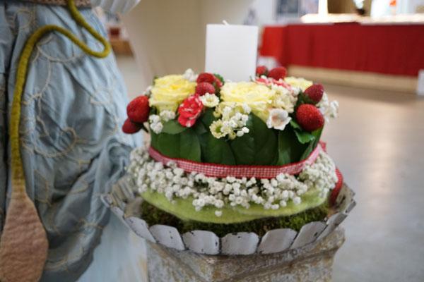 Hochzeitstorte aus Blumen in Berlin und Brandenburg