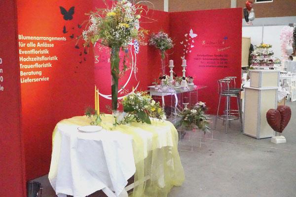 Hochzeitsfloristik, Hochzeitsmesse MAFZ