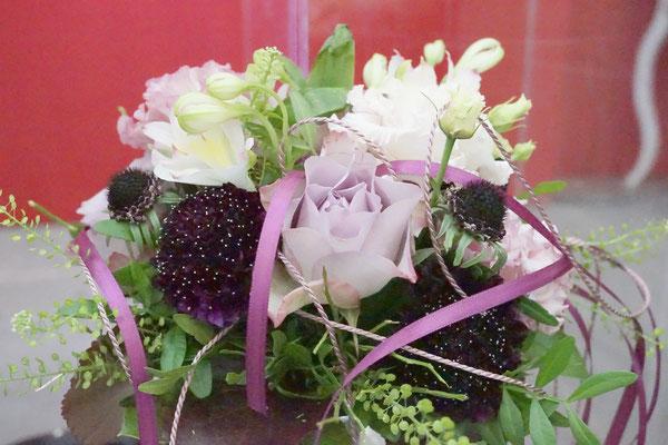 Brautstrauß, Hochzeitsfloristik