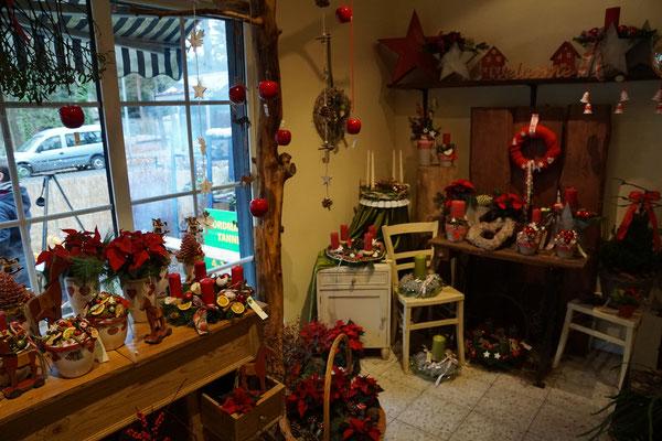 Weihnachtsdekoration Adventsausstellung