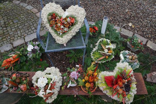 Weihnachtsdekoration Adventsausstellung Blumenladen Schönwalde-Glien