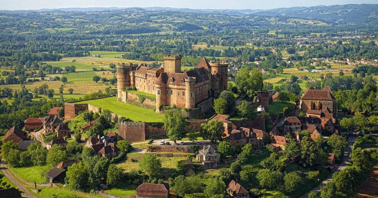 Chateau Castelnau Bretenoux - Vallées Lot Dordogne