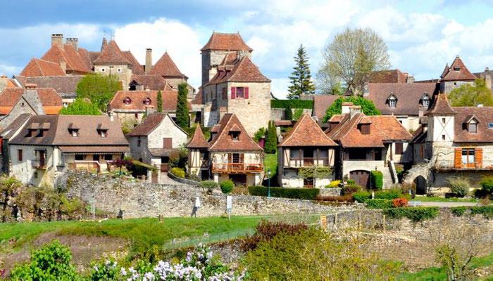 Loubressac - Camping les trois sources 4 étoiles Lot Vallée de la Dordogne