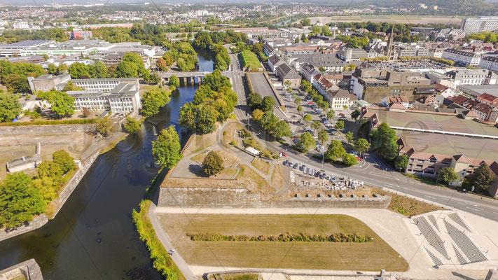 Saarlouis von Oben Luftbild