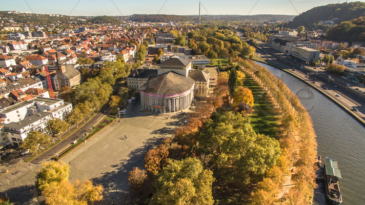 Saarbrücken von Oben Luftbild