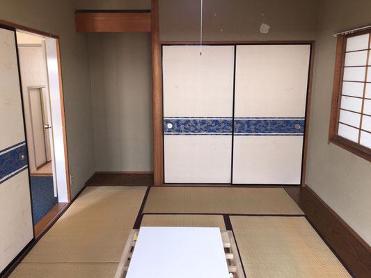 オール洋室が流行る昨今ですが、やっぱり和室は落ち着きます。