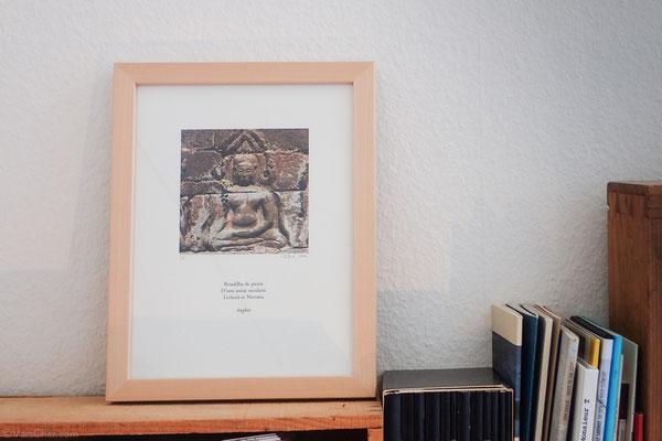 oeuvre d'art artisanal encadré achat en ligne