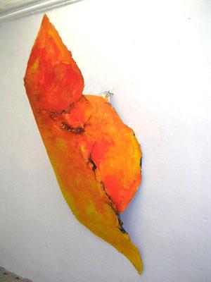 Skulptur Orange, Artclub Köln