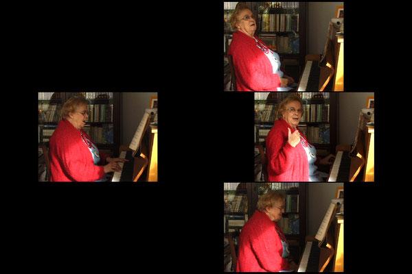 "Kaaren Beckhof ""Die alte Platte"" (Videoinstallation)"