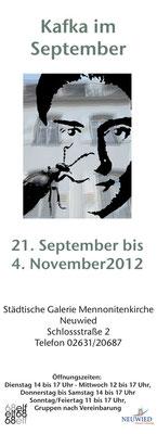 21.09. - 04.11.2012 / Städtische Galerie Neuwied