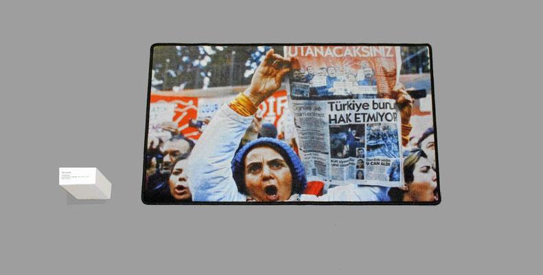 Rechte für das Originalfoto, das für das Kunstwerk von agii gosse verwendet wurde, sind bei Erhan Demirtas, Getty Image.