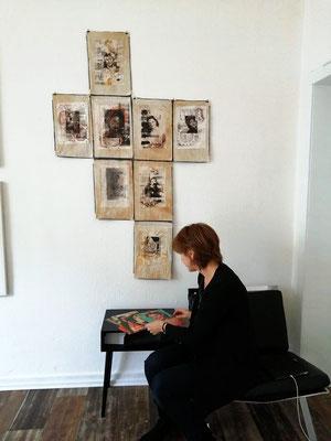 """MEMORIE"" im 68elf - studio (Foto: agii gosse)"