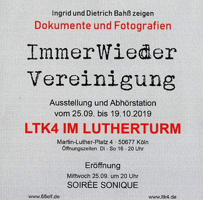 """""""ImmerWiederVereinigung"""" ist im  """"LTK4 IM LUTHERTURM"""""""