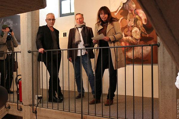 Eröffnung, Berned Straub-Molitor, Helmut Werres, Christiane Rath