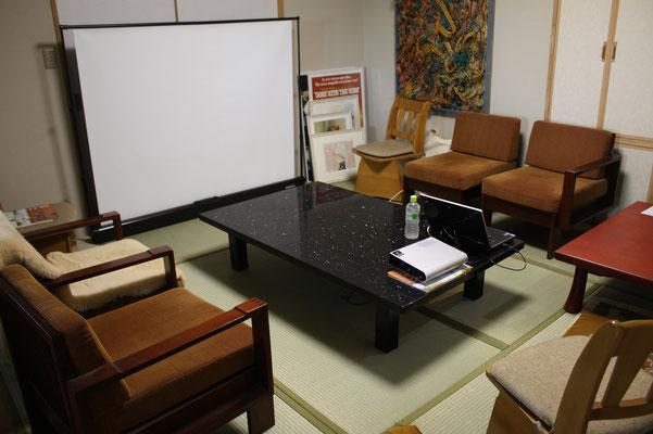 和室の畳がきれいに張り替えられました